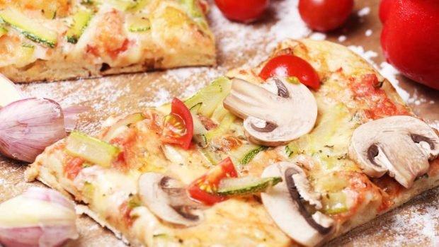 Pizzas de verduras