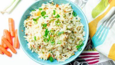 Photo of Receta de arroz tres delicias vegano