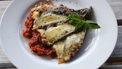 Photo of Receta de berenjena a la parmesana vegana