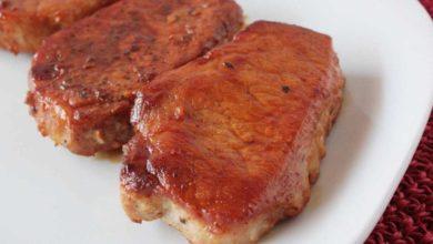 Photo of Receta de Chuletas de cerdo al estragón en olla exprés