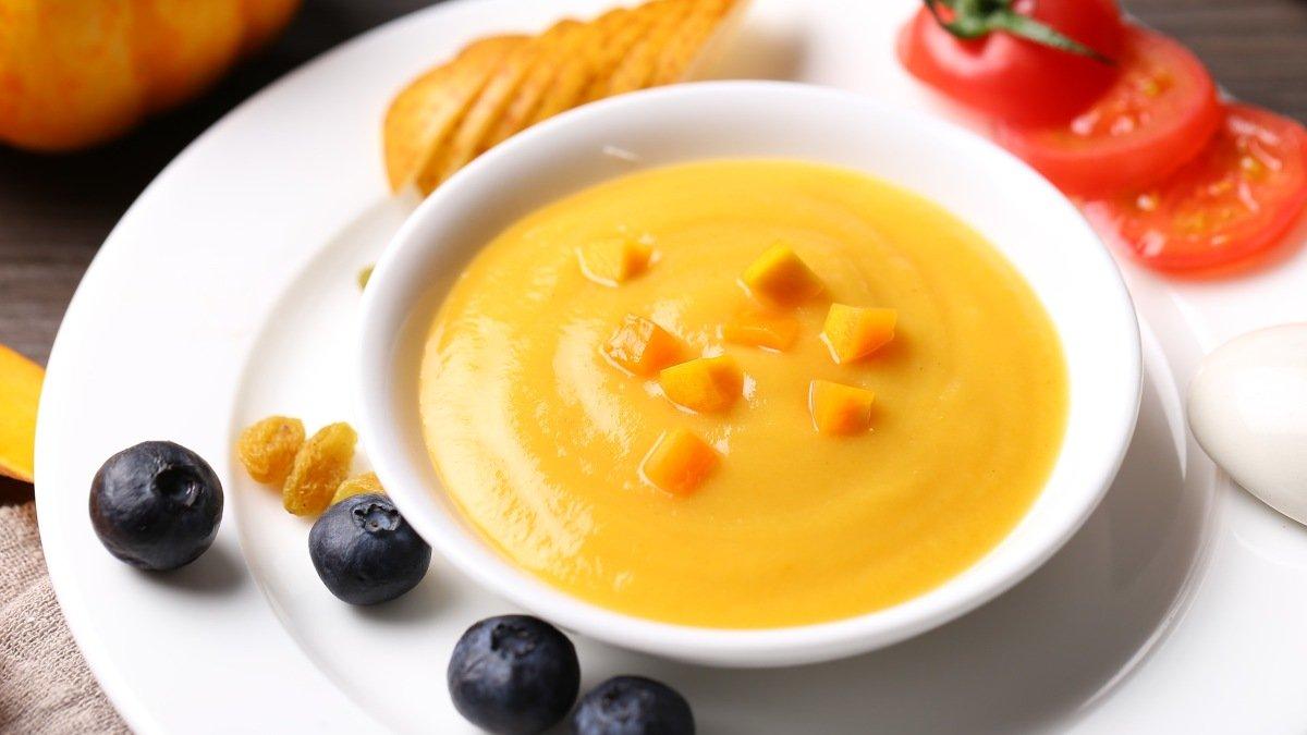 Receta de crema fría de zanahoria 1