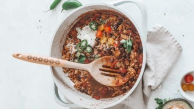 Photo of Receta de ensalada de lentejas con curry