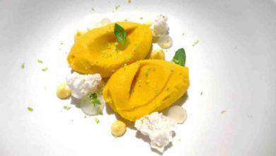 Photo of Receta de Helado de mango, menta y lima