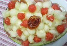 Photo of Receta de Bolitas de melón y yogur a la menta