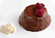 Photo of Receta de Panacotta de chocolate con leche y frutos rojos