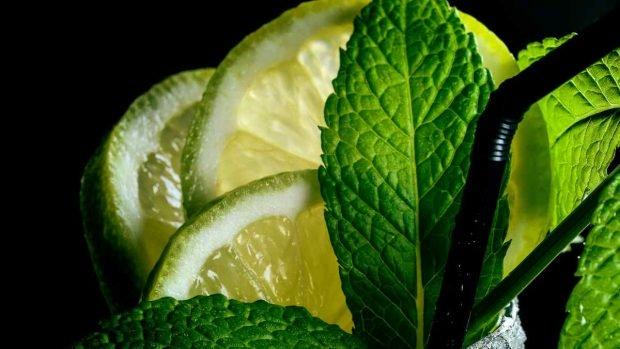 Mantequilla de limón y menta