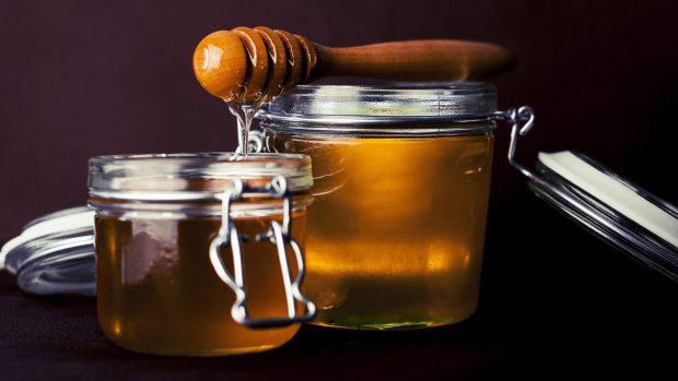 Receta de hojaldre, miel y bocados de pistacho