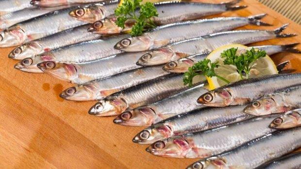 Receta de anchoas en vinagre de chicote