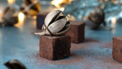 Photo of Receta de bombones de chocolate y calabaza