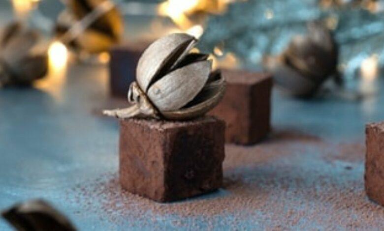 Receta de bombones de chocolate y calabaza 1