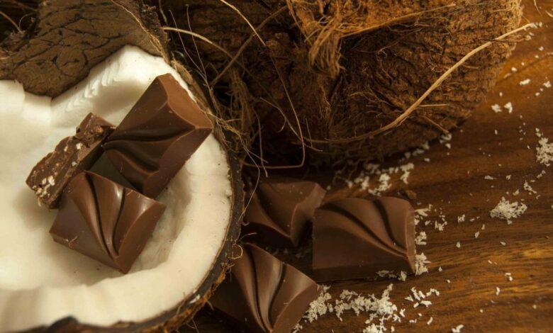 Receta de bombones de chocolate y coco caseros 1