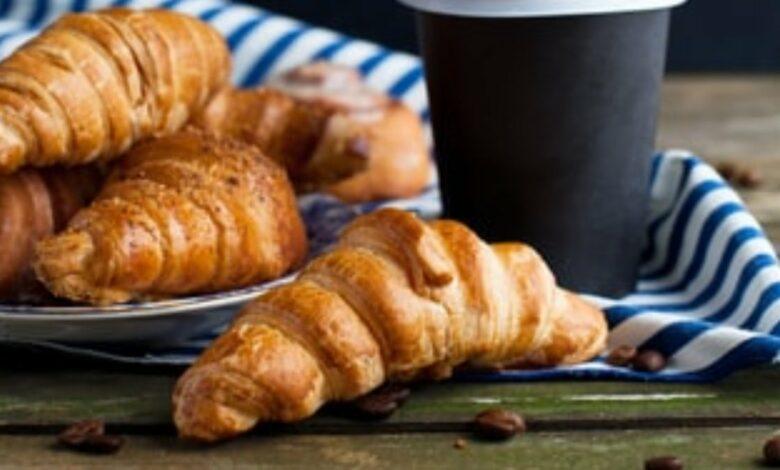 Receta de croissant relleno de crema de café 1