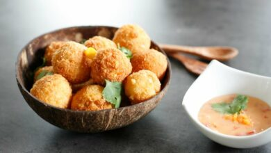 Photo of Receta de croquetas de maíz y queso