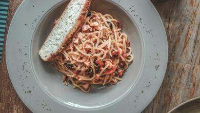 Photo of Receta de espaguetis konjac a la Provenza