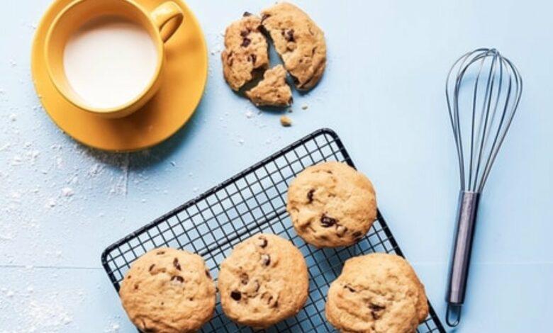 Receta de galletas de avena y tahini fáciles de preparar 1