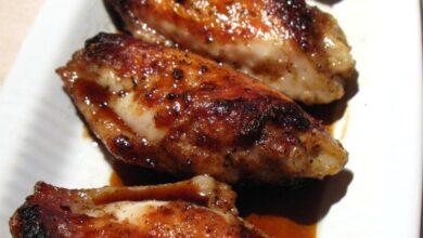 Receta de Alitas camperas de pollo con soja, miel y mostaza 5