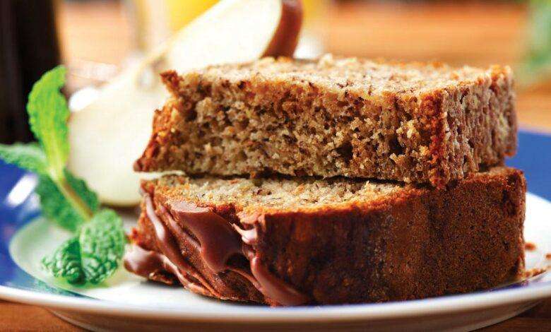 Receta de Brownie vegano de plátano, canela y batata 1