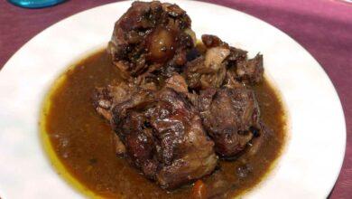 Photo of Receta de Buey guisado con salsa de albahaca