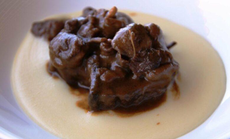 Receta de corzo en salsa de setas 1