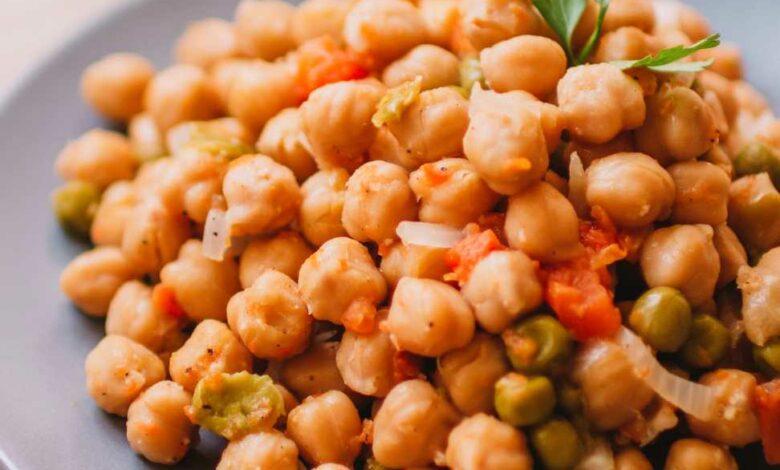 Receta de Garbanzos con hinojo y cítricos 1