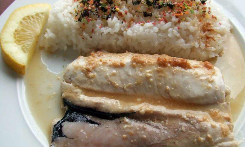 Receta de Merluza en salsa de hinojo y miso 1