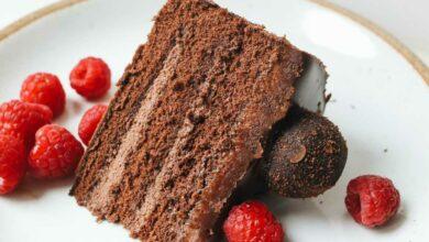 Photo of Receta de Nude cake de café y chocolate