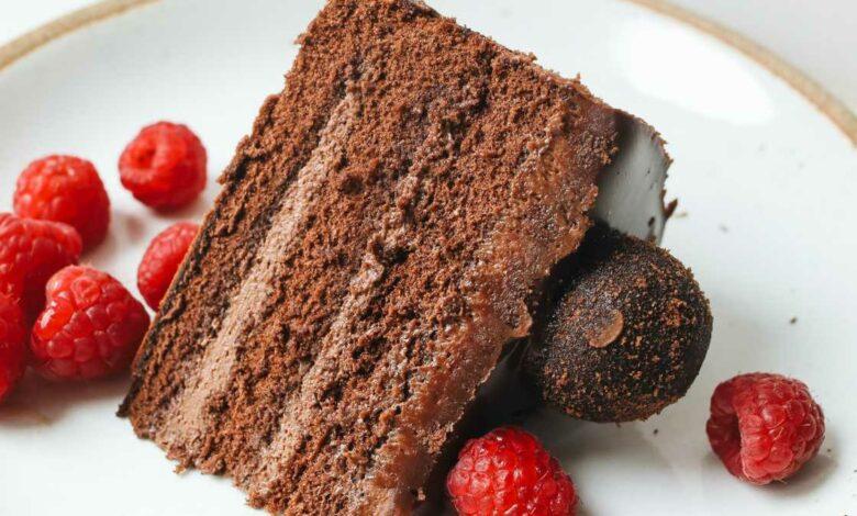 Receta de Nude cake de café y chocolate 1
