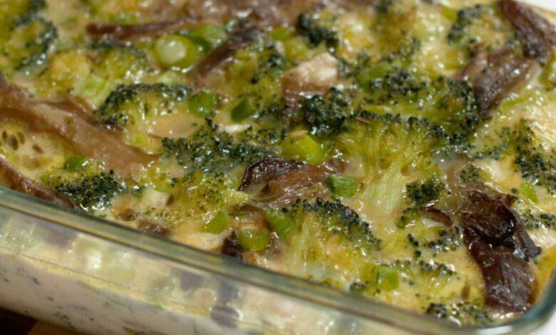 Receta de Pastel salado de brócoli con sésamo 1