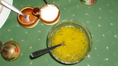Receta de Vinagreta de albahaca y limón 3