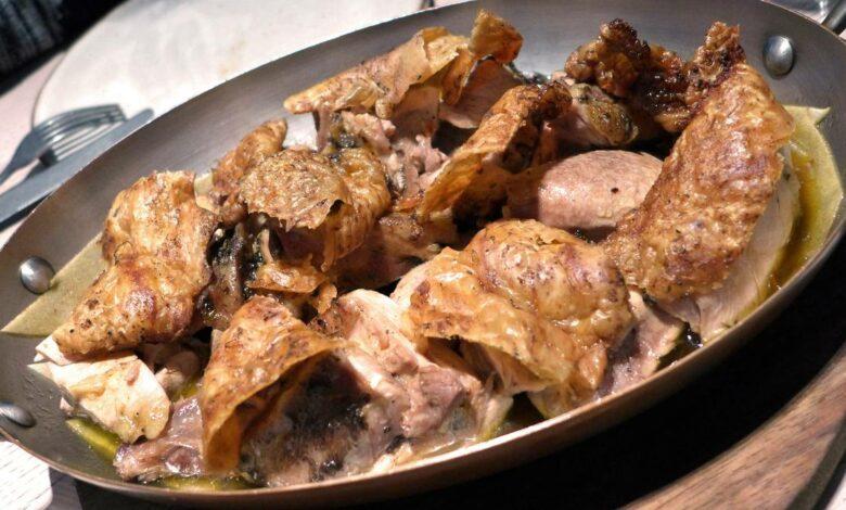 la receta manchega de pollo asado al horno