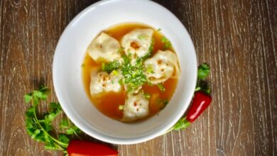 Photo of Receta de sopa de dumplings de pollo caseros