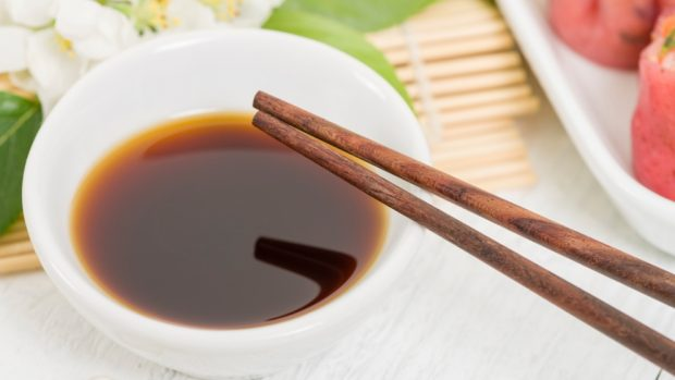 Receta de champiñones caramelizados en salsa de soja