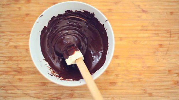 Receta vegana de muffins de chocolate