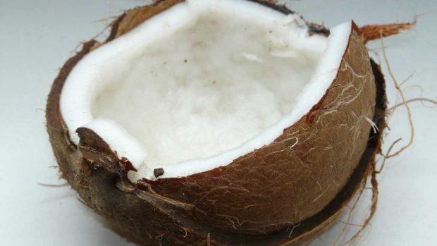 Dulce de coco dominicano