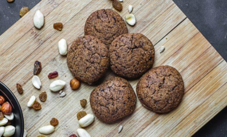 Receta de galletas de avena con chocolate en 3 pasos 1