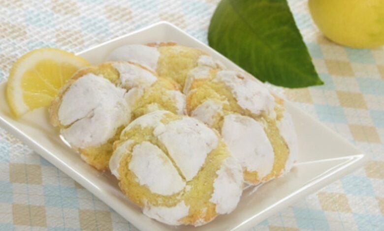 Receta de galletas de limón saludables 1