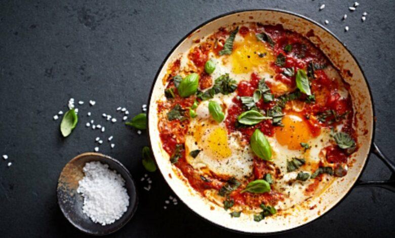 Receta de huevos al plato paso a paso 1