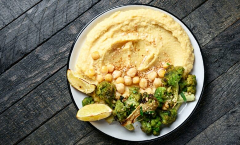 Receta de hummus de brócoli casero fácil de preparar 1