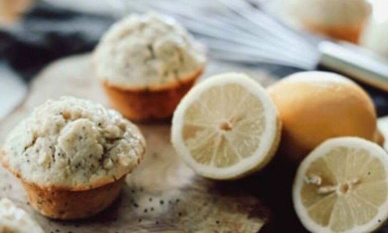 Receta de magdalenas de limón y semillas de amapola 1