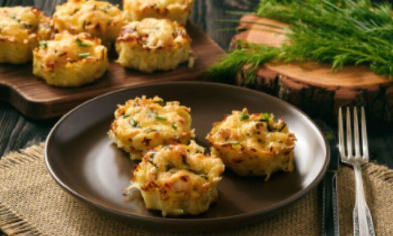 Receta de magdalenas de queso con bacon 1