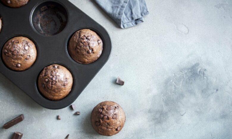 Receta de magdalenas veganas de chocolate 1