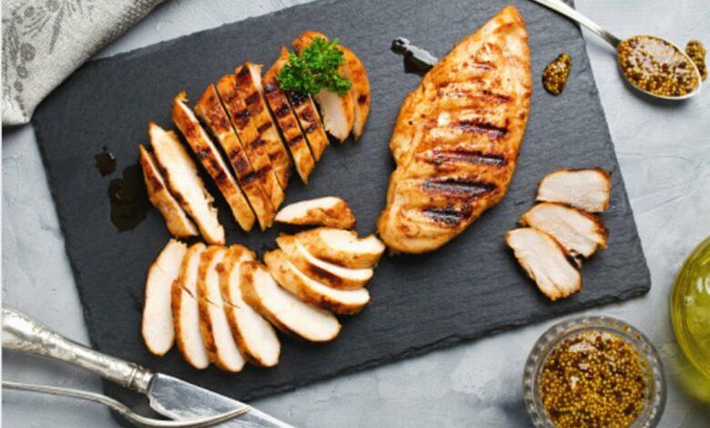 Receta de pechuga de pollo con miel y mostaza al microondas 1