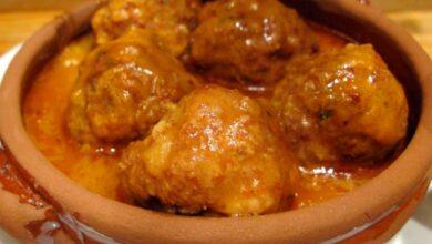 Receta de Albóndigas de cordero en salsa de hinojo 18