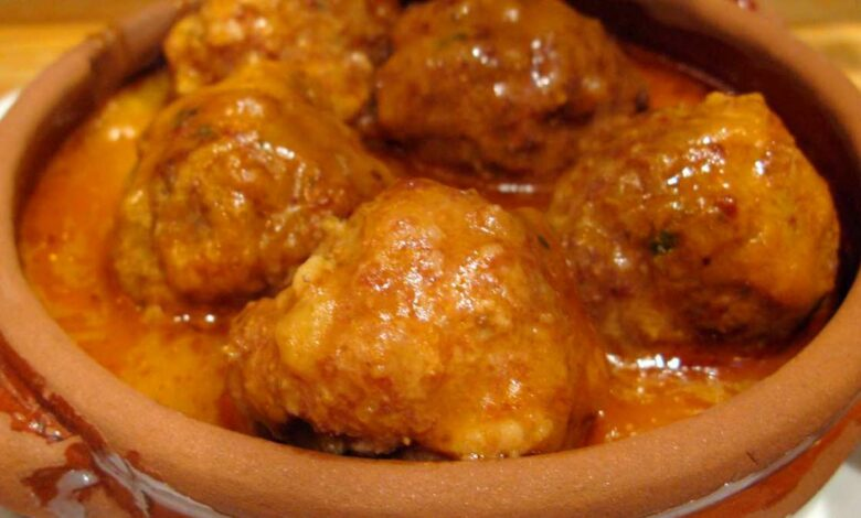 Receta de Albóndigas de cordero en salsa de hinojo 1