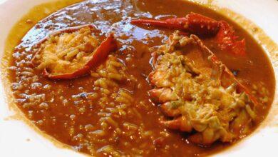 Receta de arroz caldoso con pollo y buey de mar 9