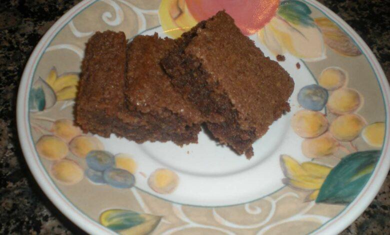 Receta de brownies de frijoles y avena: deliciosos bocadillos Fit 1
