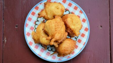Receta de Buñuelos de calabacín y tofu 4