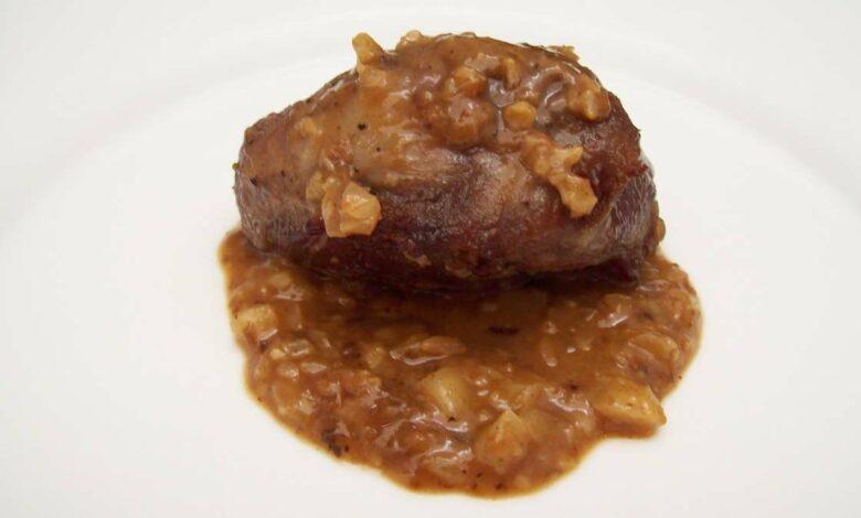 Receta de carrilleras de cerdo ibérico con salsa de boletus 1