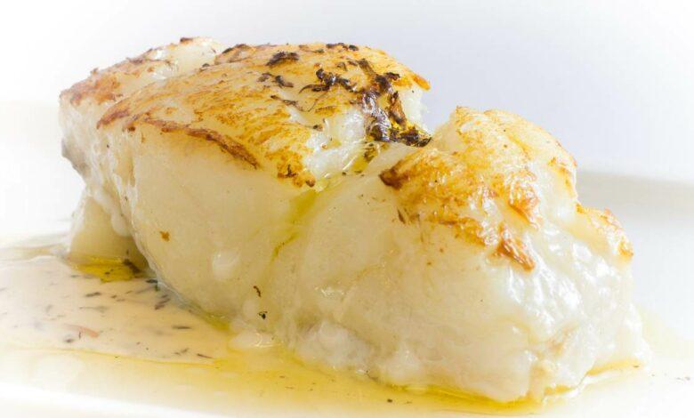 Receta de Lomo de bacalao en salsa de trufa 1
