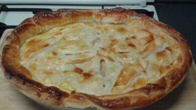 Receta de pizza caribeña con pollo 5